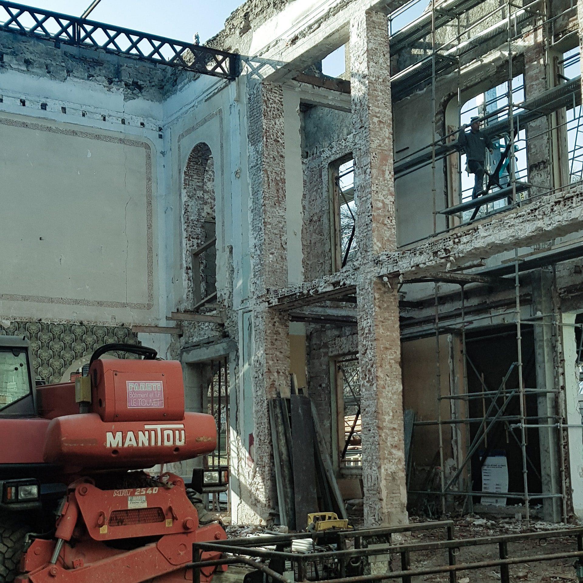 Musée d'Allevard - chantier en cours - 2020