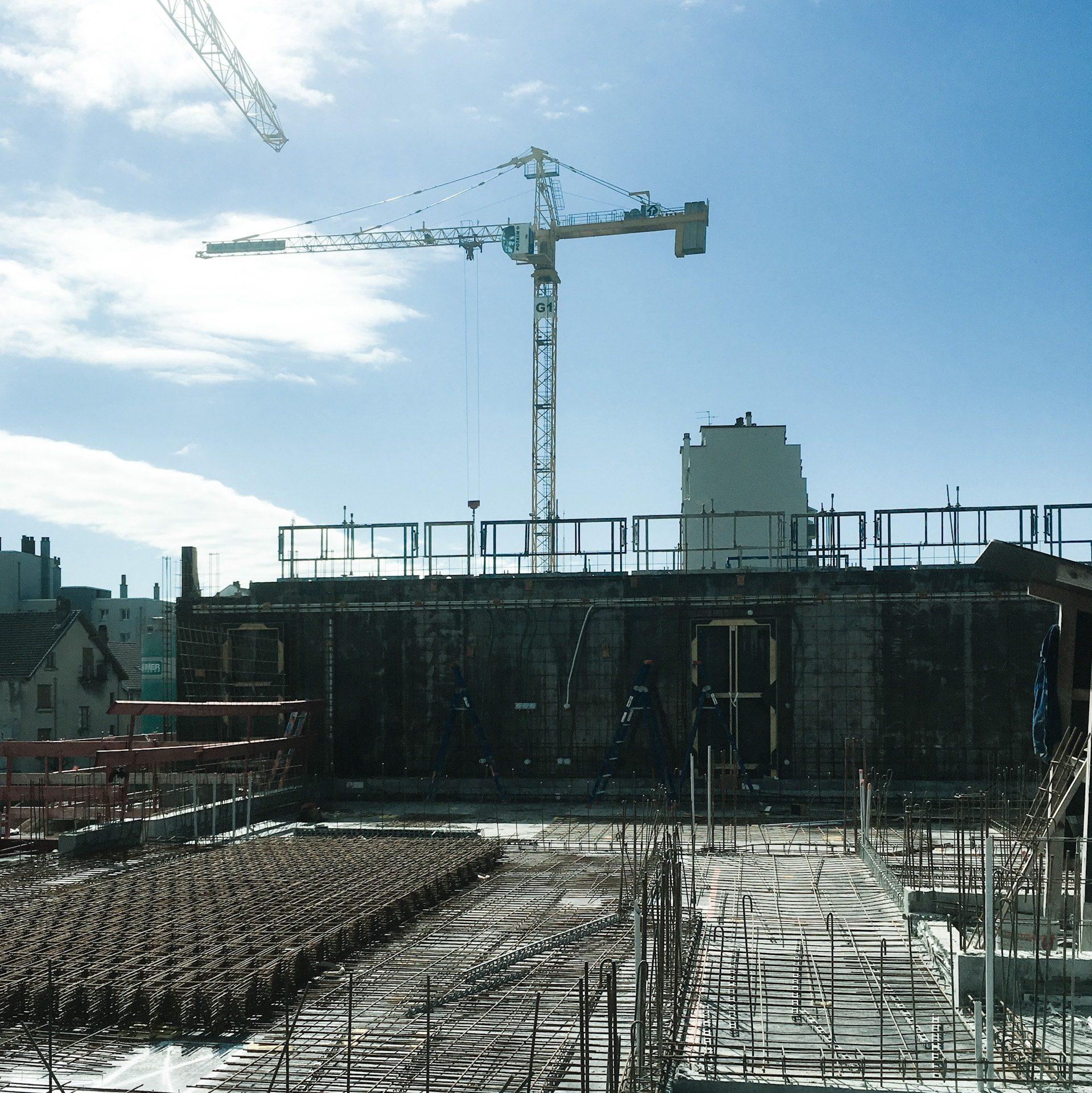 147 logements à Grenoble - chantier en cours - 2020