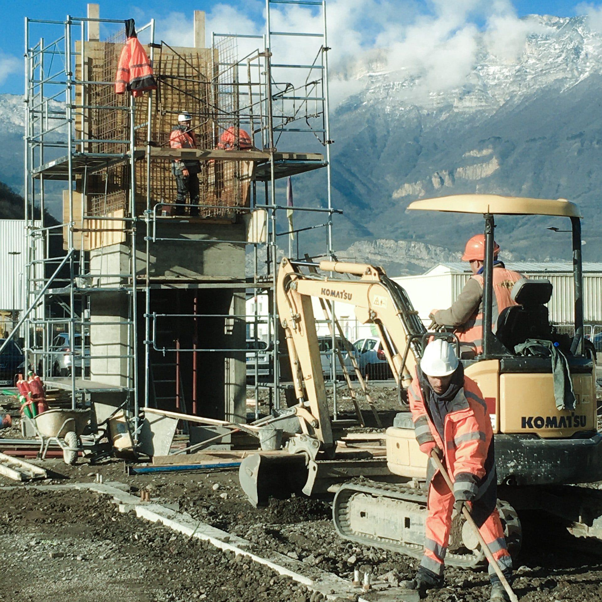 Bureaux COLAS - chantier en cours - 2020